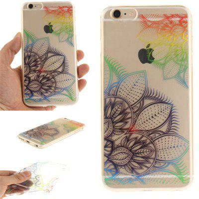 Cover Case for iPhone 6 Plus Fantasy Flowers Soft Clear IMD TPU Phone Casing Mobile Smartphone soft imd tpu case cover for iphone 7 plus rose dream catcher