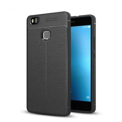 Case Cover for Huaiwei P9 Lite Embossed Back Cover Solid Color Soft TPU