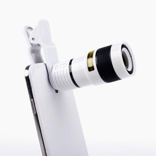Universal Phone Lens 8X Zoom Mobile Phone Camera / Telescope Smartphone