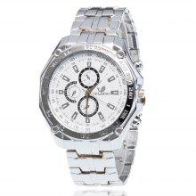 Gelegeerd staal Three-Pin Six-Pin horloge