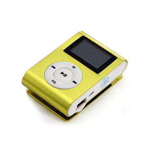 USB Clip MP3 Player LCD Screen Support 32GB Micro SD TF Card [ΚΩΔΙΚΟΣ ΚΟΥΠΟΝΙΟΥ: SZSALE40]