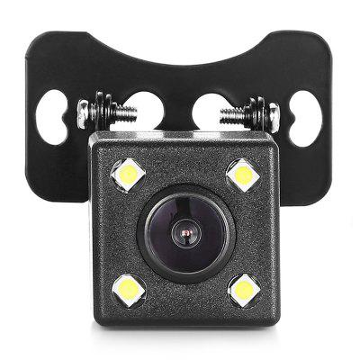 ZIQIAO Universal Waterproof Car Rear View Camera  -  BLACK