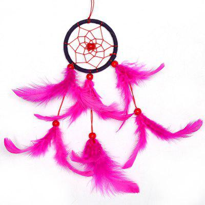 Dream Catcher Home Decor Dreamcatchers Colgante de pared Feather Dreamcatcher Regalo de los niños Coche colgante