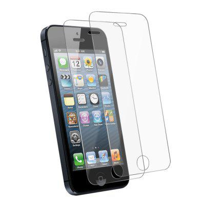 2PCS Screen Protector for IPhone 5/5C/5S/SE HD Full Coverage High Clear Premium Tempered Glass mocoat protective shock absorption tempered glass screen protector for iphone 5c 5s transparent