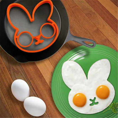 Lovely Cute Rabbit Shape Silicone Egg Mold Ring Cooking Tools Fried - Egg-kitchen-gadgets