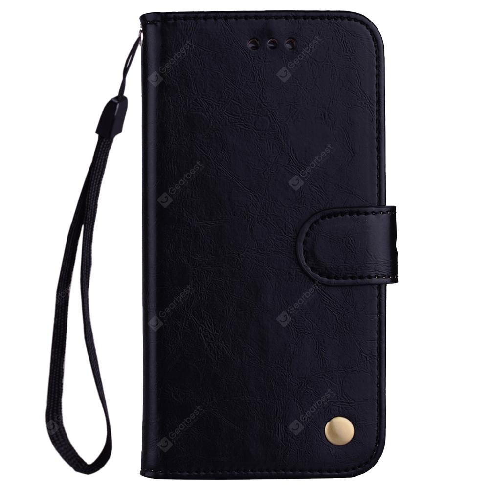 Wrist Strap Flip Folio Kickstand Feature PU Leather Wallet Case with ID Credit Card Pockets For Xiaomi 5X / A1