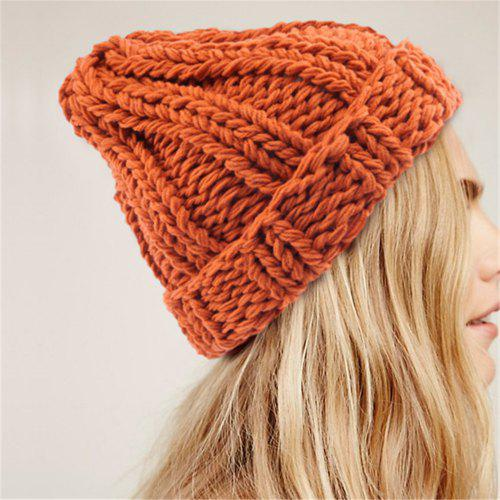 1f71314cee6cd5 Cuff Beanie Plain Knit Hat Winter Warm Cap Slouchy Skull Ski Hats Men Women  Warm