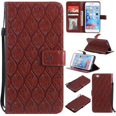 Case for iPhone 6 Plus / 6s Plus Flip Wallet PU Leather High Quality Book Stand Card Slot Phone Cover floveme genuine leather waist phone pouch cover for iphone 7 plus 6s plus 6 plus with card slots dark grey