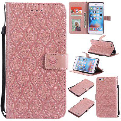 Case for iPhone 6 Plus / 6s Plus Flip Wallet PU Leather High Quality Book Stand Card Slot Phone Cover pu leather wallet kickstand case phone cover for iphone 6 6s