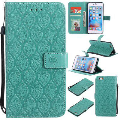 Case for iPhone 6 / 6s Flip Wallet PU Leather High Quality Book Stand Card Slot Phone Cover protective patterned flip open pu case cover w stand card slot for iphone 6 black multicolor