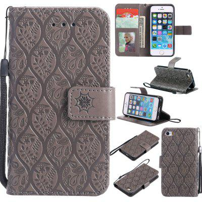 Case for iPhone 5 / 5s / SE Flip Wallet PU Leather High Quality Book Stand Card Slot Phone Cover mercury goospery milano diary wallet leather mobile case for iphone 7 plus 5 5 grey