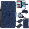Case for iPhone 5 / 5s / SE Flip Wallet PU Leather High Quality Book Stand Card Slot Phone Cover - DEEP BLUE