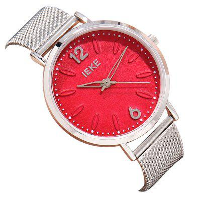 IEKE88009 Gold Women Quartz Watches Ladies Top Brand Luxury Female Wrist Watch Girl Clock Relogio Feminino fashion brand crrju watches women ladies crystal diamond quartz watch luxury rose gold wrist watches for women relojes mujer