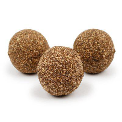 20G 1PCS Natural Cats Peppermint Ball Pet Products Cats Grass Balls Hairballs