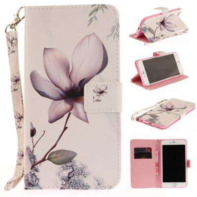 Cover Case for IPhone 6 6S Magnolia PU+TPU Leather with Stand and Card Slots Magnetic Closure free shipping new 10 1 original stand magnetic leather case cover for lenovo ibm thinkpad 10 tablet pc with sleep function