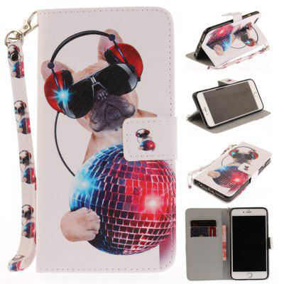 Cover Case for IPhone 6 6S Fashion Dog PU+TPU Leather with Stand and Card Slots Magnetic Closure free shipping new 10 1 original stand magnetic leather case cover for lenovo ibm thinkpad 10 tablet pc with sleep function