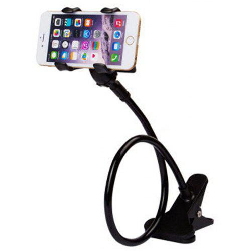 9202a9e2683e Universal Long Arm Lazy Mobile Phone Gooseneck Stand Holder Flexible Bed  Desk Table Clip Bracket for Phone