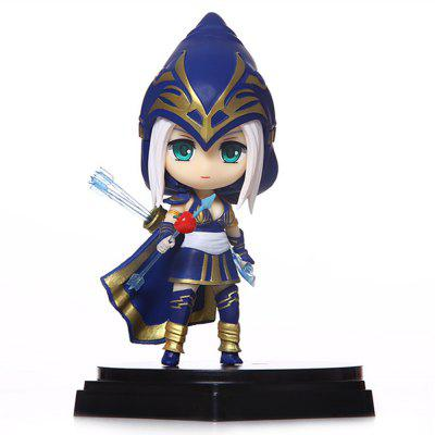 Hot Game Hero Role PVC Model with Brave Girl Style Figurine Toy
