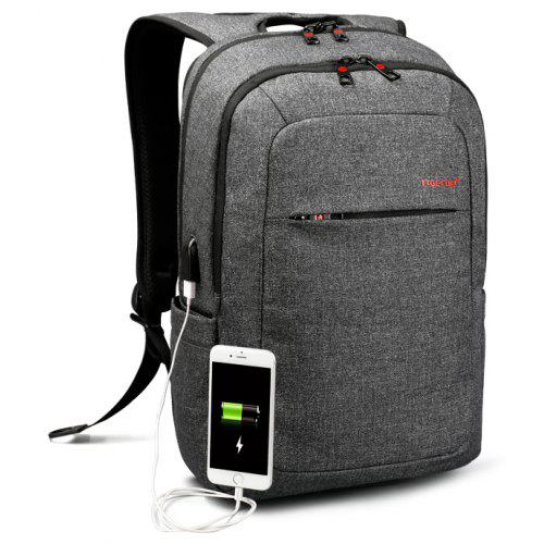 cc52a57e17979 Tigernu Brand External USB Charge Backpack Male Mochila Escolar Laptop  Backpack School Bags for Teens