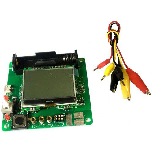 3 7V LCD Graphic Display Inductor-Capacitor ESR Meter DIY