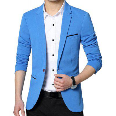 Fashion Blazer Slim Fit Male Spring Autumn Men'S Short Blazers