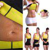 Hot Shapers Neoprene Thermal Slimming Waist Belt Shaper Sauna Fitness  Workout Pants  Body Shaper Sports Vest - BLACK