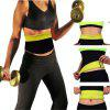 Hot Shapers Neoprene Thermal Slimming Waist Belt Shaper Sauna Fitness  Workout Pants  Body Shaper Sports Vest - SIYAH