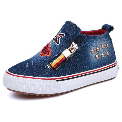 Mens Canvas Boat Shoes Cute Cherry Pattern Good Textile Canvas Slip-on Casual Printing Comfortable Low Top Lightweight Sneakers