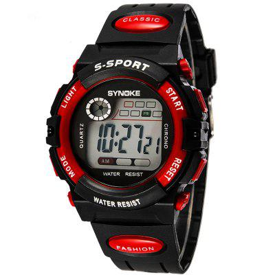 SYNOKE LED Digital Children Watch Niños Relojes Girls Boys Reloj Niño Deporte Reloj de pulsera