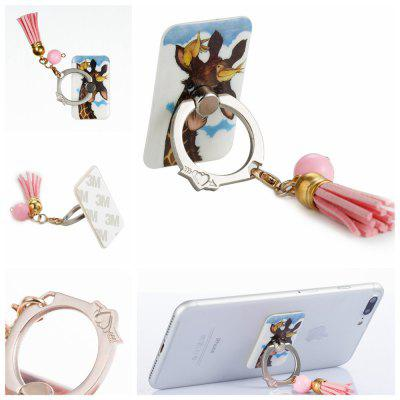 Phone Ring Stand Holder, MAXFE.CO 360 Degree Rotating Grip Zinc Alloy Kickstand Phone Finger Holder antique carved bronze zinc alloy paper holder with phone holder and ashtray shelf toilet paper holder bathroom products ae35
