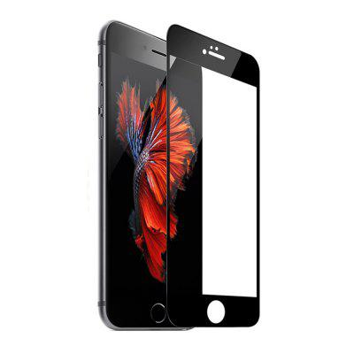 3D Curved Soft Carbon Fiber Edge Premium Glass Film Full Cover Screen Protector Guard Film 9H HD for IPhone 6S Plus