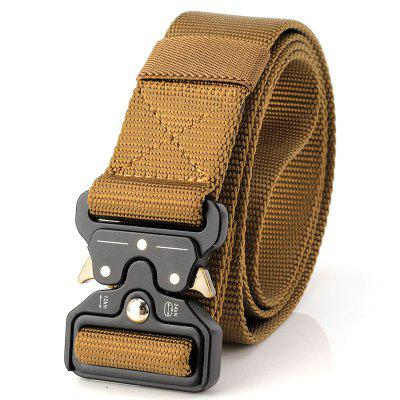 Quick Dry Multi-Function Tactical Military Belt Outdoor Hiking Cinto de nylon com fivela de metal