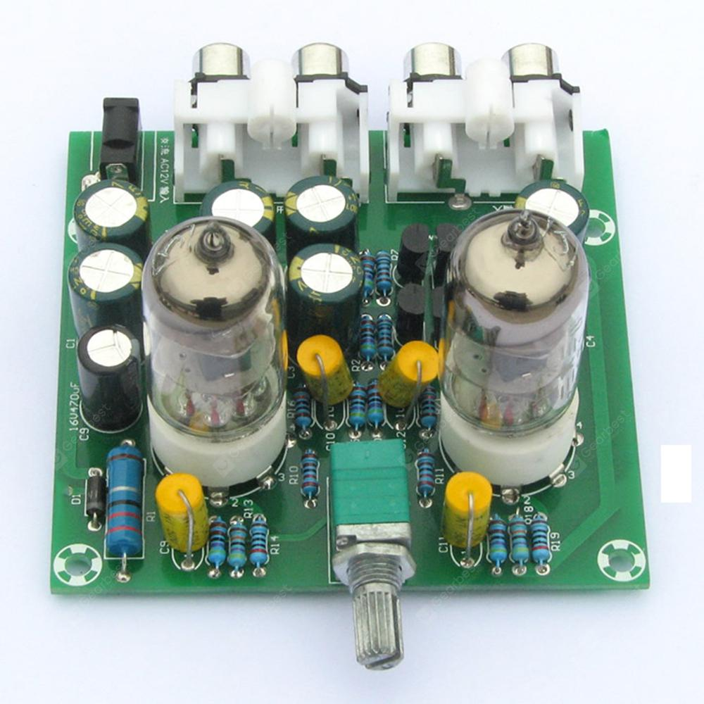 6j1 Tube Preamp Amplifier Board Pre Amp Headphone Valve Capacitor How Does This Mosquito Zapper Circuit Work Electrical Bile Buffer Finished Product 843 Free Shipping