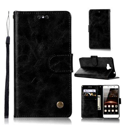 Case For Huawei Y6 2017  Vintage Print Color Mobile Phone Protector