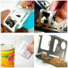 Multi-Function Tool Card Opener - SILVER