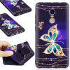 Relief Silicone Case for Xiaomi Redmi Note 4 / 4X 64GB Butterfly Pattern Soft TPU Protective Back Cover - MULTI