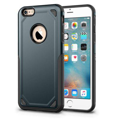 Impact Hybrid Armor for iPhone 6 Plus / 6s Plus Hard Protect Cover Strong v2 waterproof cover bag with strap for iphone 6 plus 6s plus size 17 x 9cm blue