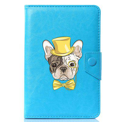 Universal Small Cute Dog PU Leather Stand Cover Case For 10.1 Inch universal 10 inch tablet pu leather case cover for gigaset qv1030 technisat technipad 10g android cases center film pen kf492a