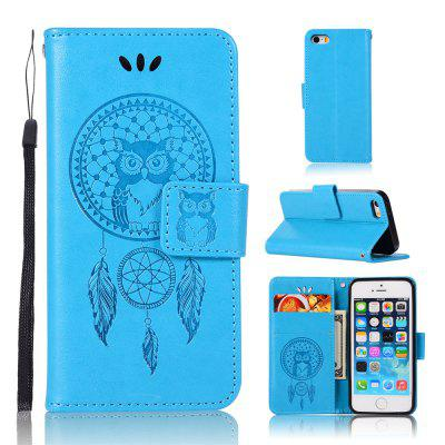Owl Campanula Fashion Wallet Cover For iPhone 5/SE/5S Phone Bag With Stand PU Extravagant Retro Flip Leather Case mercury goospery milano diary wallet leather mobile case for iphone 7 plus 5 5 grey