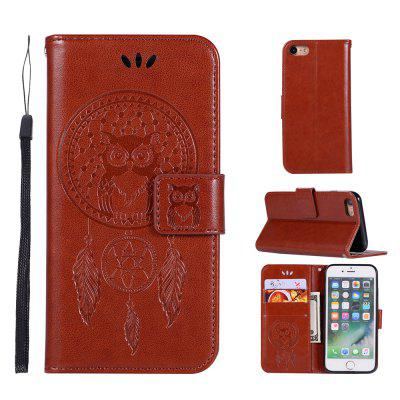 Owl Campanula Fashion Wallet Cover For iPhone 6/6S Phone Bag With Stand PU Extravagant Retro Flip Leather Case pu leather wallet kickstand case phone cover for iphone 6 6s
