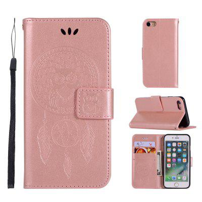 Owl Campanula Fashion Wallet Cover For iPhone 6/6S Phone Bag With Stand PU Extravagant Retro Flip Leather Case icarer wallet genuine leather phone stand cover for iphone 6s plus 6 plus marsh camouflage