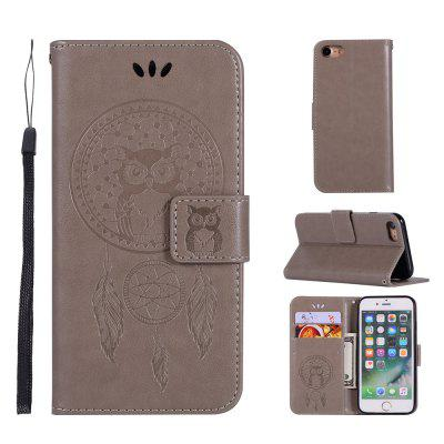 Фото Owl Campanula Fashion Wallet Cover For iPhone 6/6S Phone Bag With Stand PU Extravagant Retro Flip Leather Case gumai silky case for iphone 6 6s black