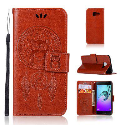 Owl Campanula Fashion Wallet Cover For Samsung Galaxy A3 2016 A310 Phone Bag With Stand PU Extravagant Flip Leather Case