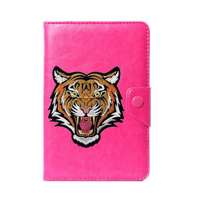 Universal Cartoon Tiger Case for 6 / 7 / 7.9 / 8 / 9 / 10 / 10.1 inch case cover for goclever quantum 1010 lite 10 1 inch universal pu leather for new ipad 9 7 2017 cases center film pen kf492a