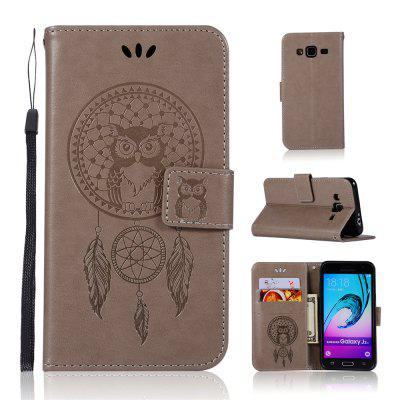 Owl Campanula Fashion Wallet Cover For Samsung Galaxy J3 2015 J300 Phone Bag With Stand PU Extravagant Flip Leather Case
