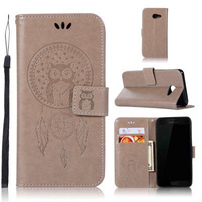 Owl Campanula Fashion Wallet Cover For Samsung Galaxy J5 2017 J520 US version Phone Bag With Stand PU Flip Leather Case