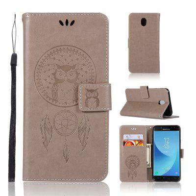 Owl Campanula Fashion Wallet Cover para Samsung Galaxy J7 2017 J730 Case versión europea PU Flip Leather Phone Case