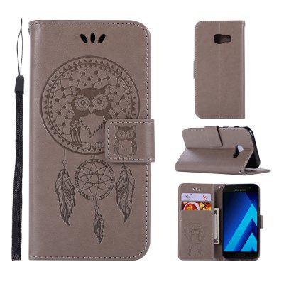 Owl Campanula Fashion Wallet Cover For Samsung Galaxy X Cover 4 G390F Phone Bag With Stand PU Retro Flip Leather Case