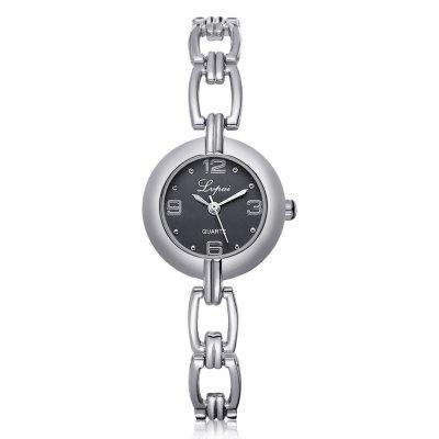 Lvpai P180 Women Unique Alloy Band Quartz Watches
