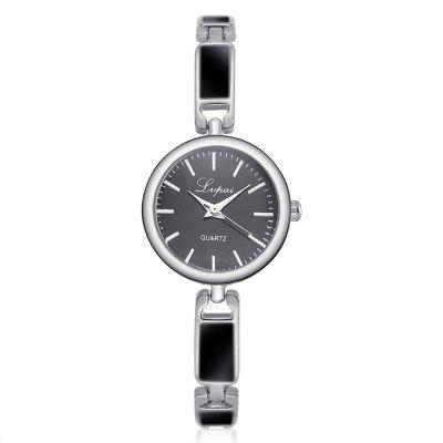 Lvpai P212 Women Enamel Alloy Band Quartz Watches